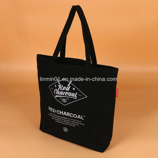 china custom canvas tote bag with printing for lady china tote bag