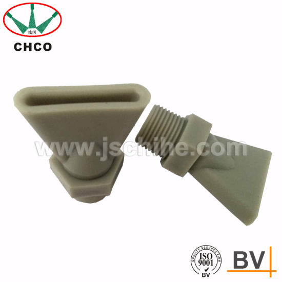 China ch plastic beak flat fan water spray nozzle