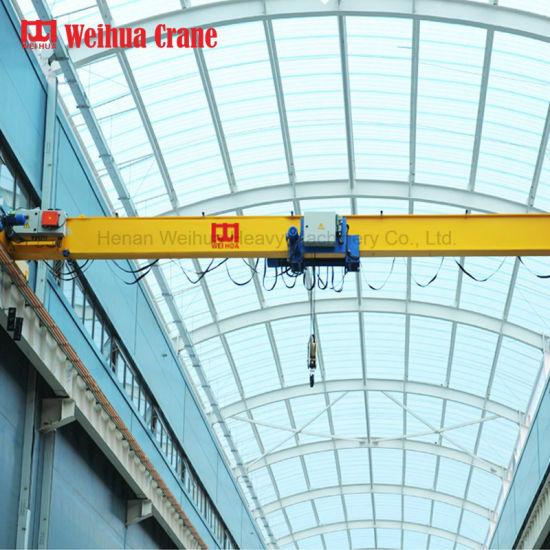 Weihua European Style Overhead Crane 10 Tons Single Beam Crane