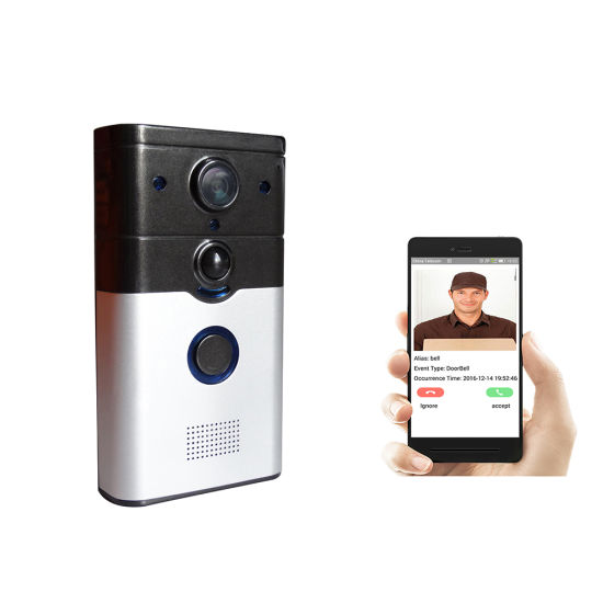 Ring Bell PRO Wired Video Doorbell Camera with PIR Motion Mobile APP