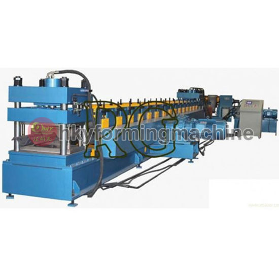 Automatic PLC Freeway Guardrail Roll Forming Machine pictures & photos