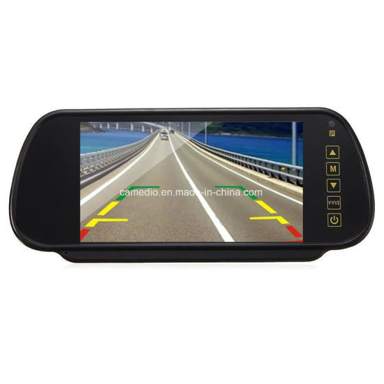 7inch Digital Mirror Monitor Night Vision Car Rear View Camera System pictures & photos