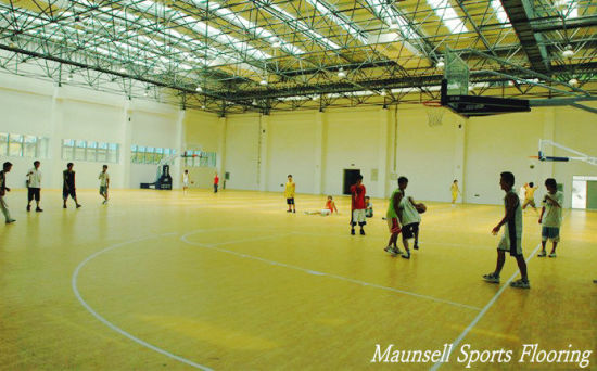 10 Colors PVC Sports Floor for Indoor Basketball and Other Sports Courts Export to USA Market pictures & photos