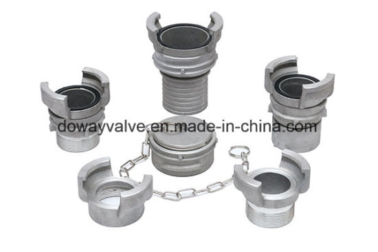 China Manufacturer Wholesale Alumiunm Guillemin Coupling for Hose Connector