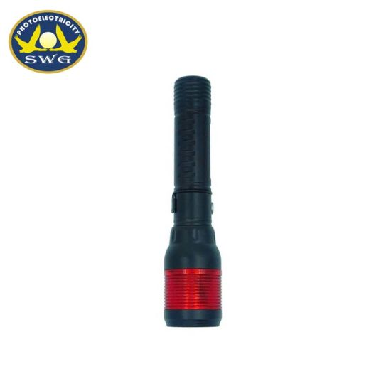 Emergency Use 2 in 1 Red Caution Light High Quality Flashlight for Car Gift