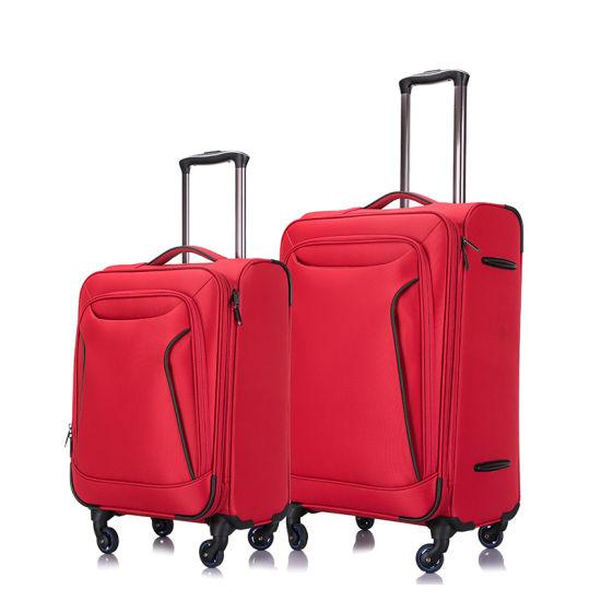 New Nylonsoft Luggage Travel Case Trolley Set