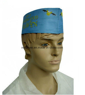 Paper Forage Cap for Kitchen and Food Service