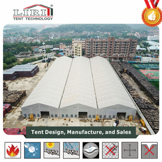 Waterproof Outdoor Big Warehouse Tent with PVC Fabric for Storage and Warehouse pictures & photos