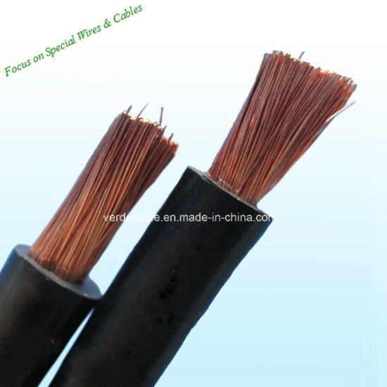 China Multi Stranded Copper Wire Cable Rubber Cable - China Cable ...