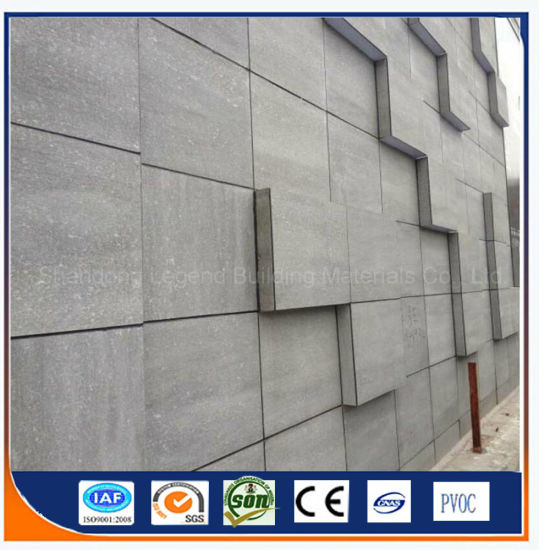 Grey Cement Board : China fcb fire rated fiber cement board grey color non