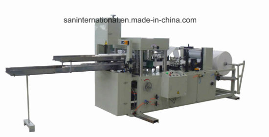 High Speed Double Channel Napkin Paper Z Folding Machine pictures & photos