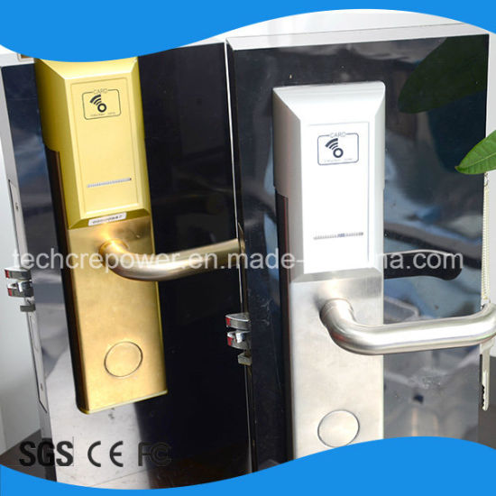 RFID Card Hotel Electronic Wireless Lock for Hotel Lock System pictures & photos