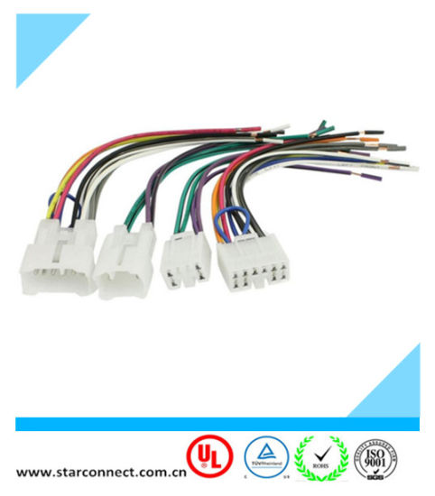 china high quality toyota automotive 10 pin iso audio wire harnesses rh starconnect en made in china com