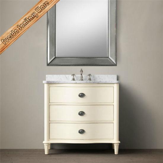Wholesales New Design Solid Wood Bathroom Cabinet