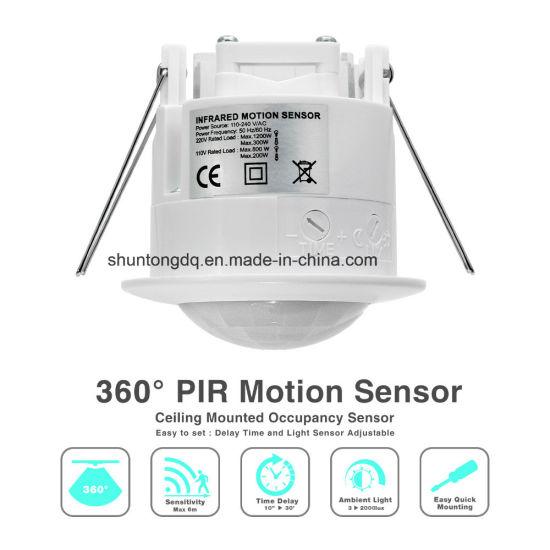 110V-220V/AC 360 Degree Smart PIR Infrared Motion Sensor Light Switch Detector for LED Lighting