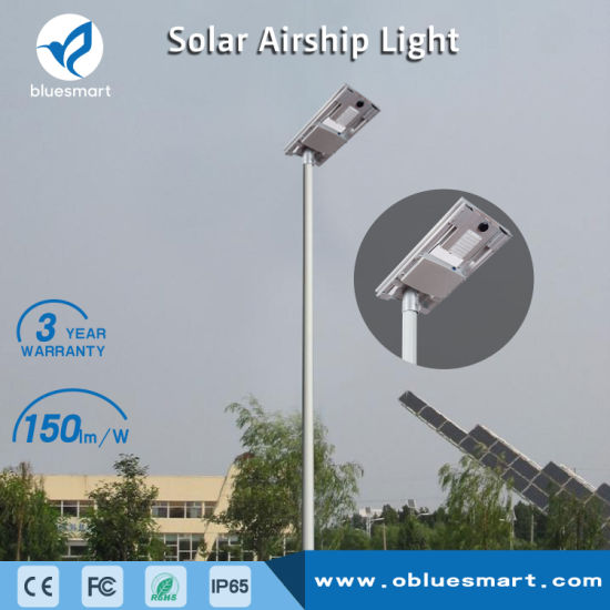 50W LED Solar Street Lamp with LiFePO4 Battery