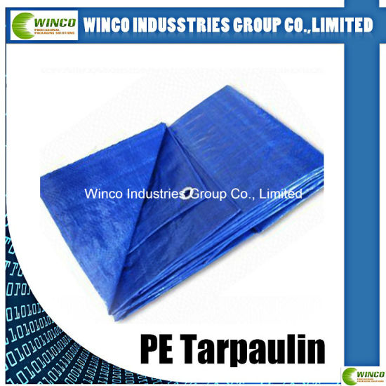 China Pe Tarpaulin Blue Hdpe Woven Fabrics Both Side Ldpe Laminated 100 New Material Pe Tarpaulin China Plain Style Pe Tarpaulin And China Pe Tarpaulin Price