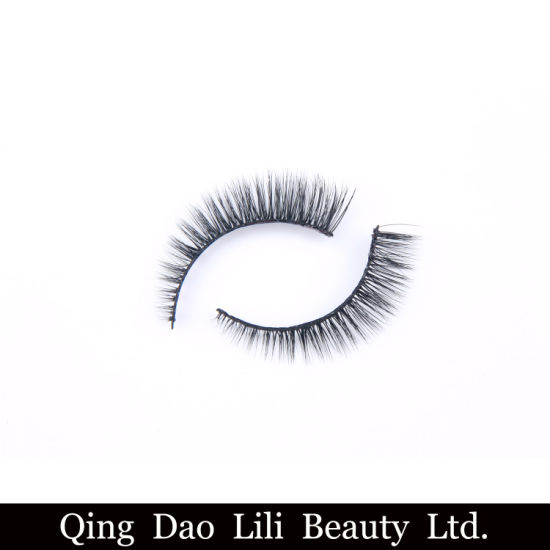 7b3cfd50da2 Volume Fans 3D Magnetic Lashes Soft Band Silk Magnetic Fake Eyelashes with  Custom Packaging Boxlower Price Natural Looking Private Label 3D Silk False  ...