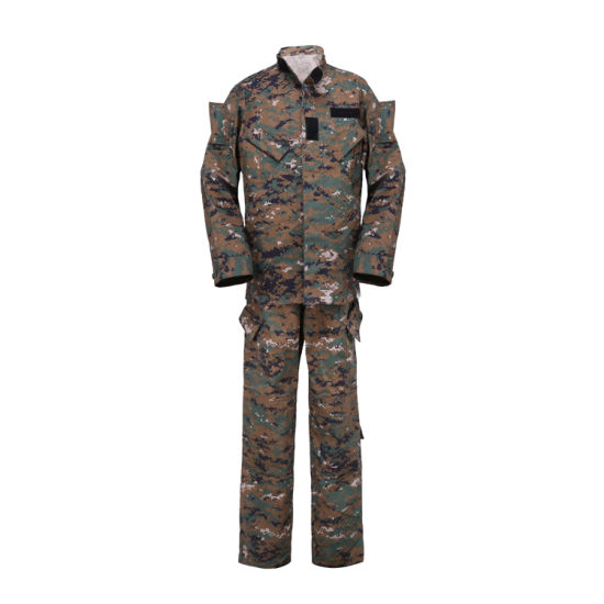 5bd0b466be Outdoor Hunting Camouflage Clothing Overall Suit Coat Camouflage Fabric  Printed