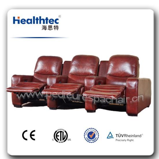 Theatre Cinema Electronic Recliner Functional Chair Functional Sofa (B015) pictures & photos