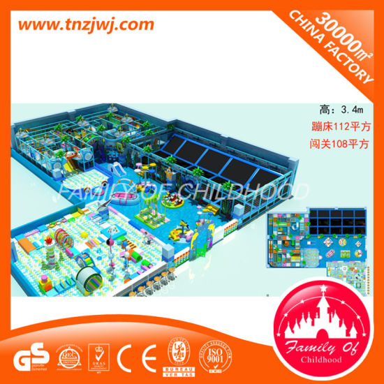 2016 Popular Soft Indoor Playground Naughty Castle pictures & photos