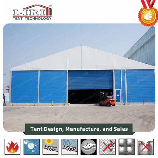 25m Width Industrial Big Warehouse Second Hand Outdoor Storage Tent
