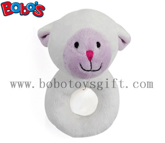 "5.5""Soft Blue Mouse Infant Animal Toys Baby Holder Toy pictures & photos"