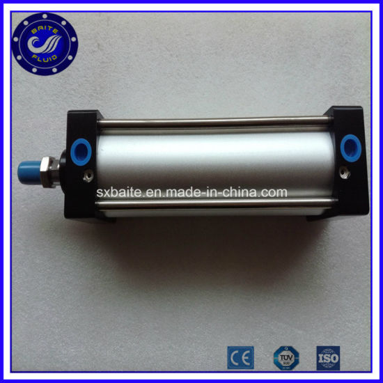Aluminum Piston Double Acting Adjustable Long Stroke Pneumatic Air Cylinder