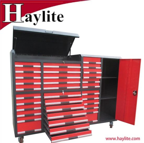 Trolley Garage Use Heavy Duty Roller Drawer Tool Cabinet Box Qingdao Supplier pictures & photos