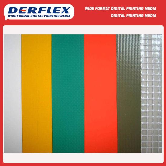 680GSM & 1100GSM, 1000dx1000d Laminated PVC Tarpaulin Roll Material