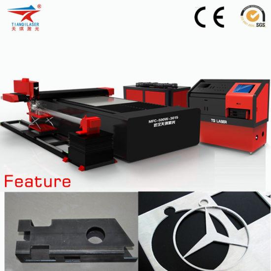 Good Manufacturer Fiber Laser Cutting Machine in Metal Cutter