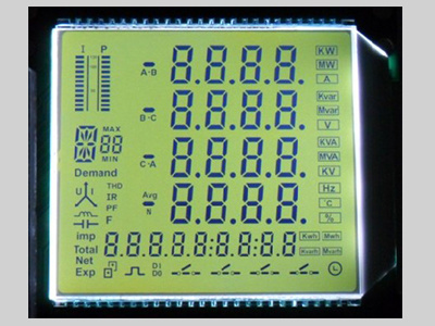 8 Digits LCD Module Manufacture 8 Digits LCD Glass pictures & photos