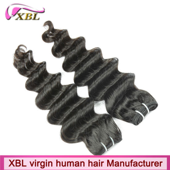 Xbl Wholesale Human Hair Cheap Indian Virgin Hair pictures & photos