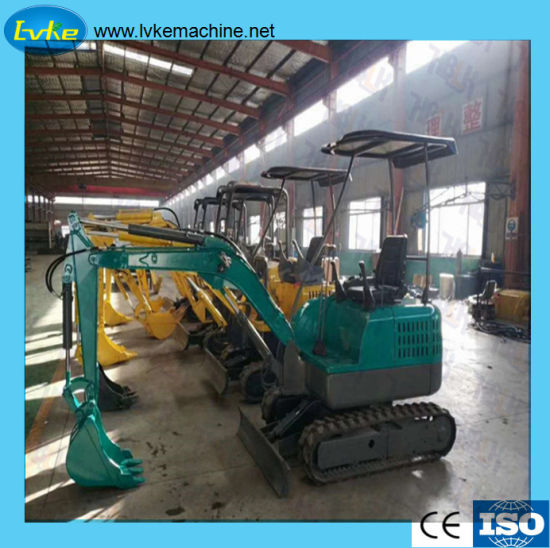Low Price Chinese Manufacture 0.8ton to 2.2ton Mini Excavator pictures & photos