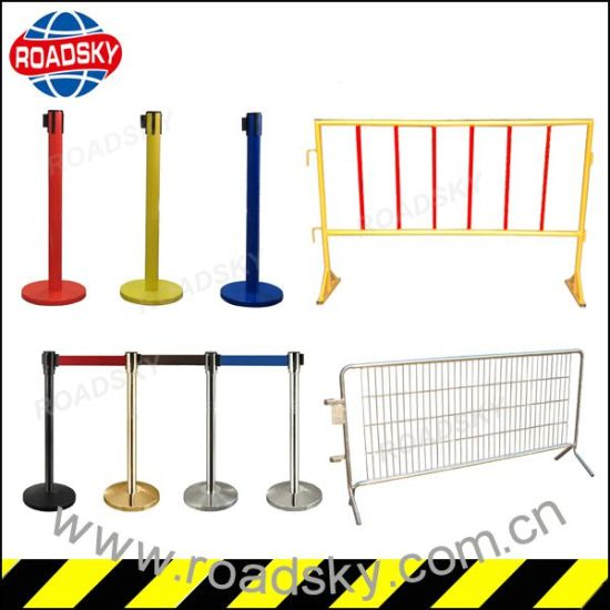 Flexible Anti-Impact Crowd Control Plastic Taffic Barrier pictures & photos