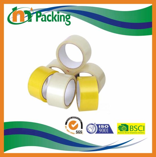 Transparent Carton Packing BOPP Adhesive Tape pictures & photos