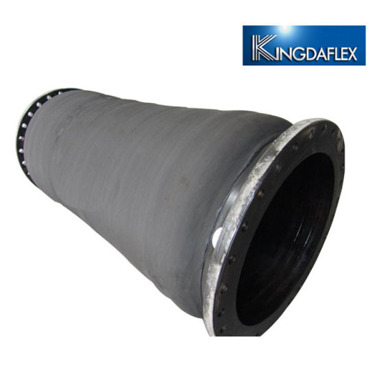 Rubber Pipe Flanged Connection Suction Dredging Hose China Manufacturer
