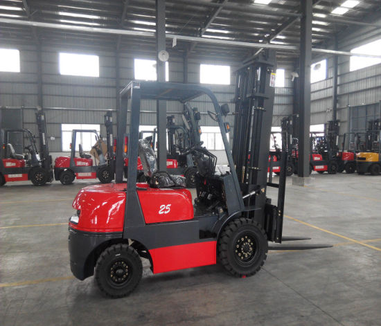 2.5tgasoline/ LPG Double Use Forklift pictures & photos