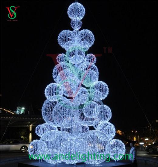 Led Christmas Tree Lights.Hot Item Led Christmas Ball Motif Lighting Tree For Square Light