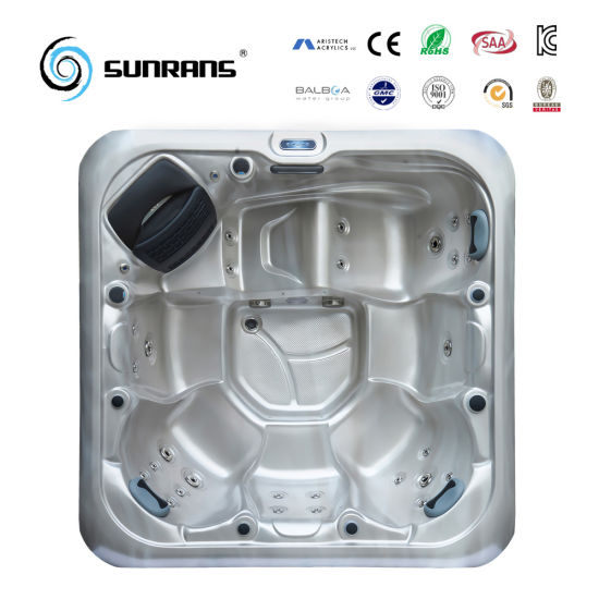 2017 Sunrans New Design Good Quality Balboa Acrylic SPA Hot Tub Jacuzzi pictures & photos