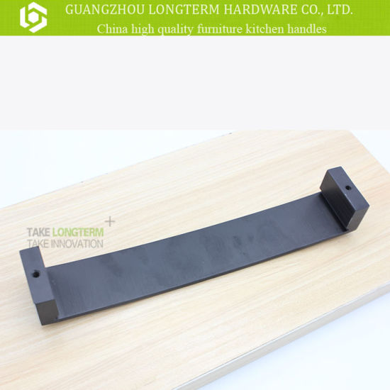 Top Grade Aluminium Wooden Solid Cabinet Handle pictures & photos