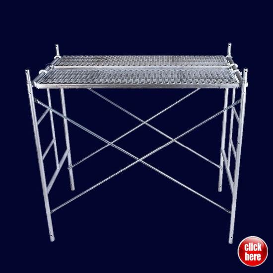 Hi-Load Shoring Frame Scaffolding System