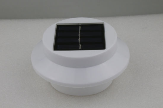 Waterproof Solar Powered Fence Gutter Light Outdoor Garden Wall Pathway Lamp pictures & photos