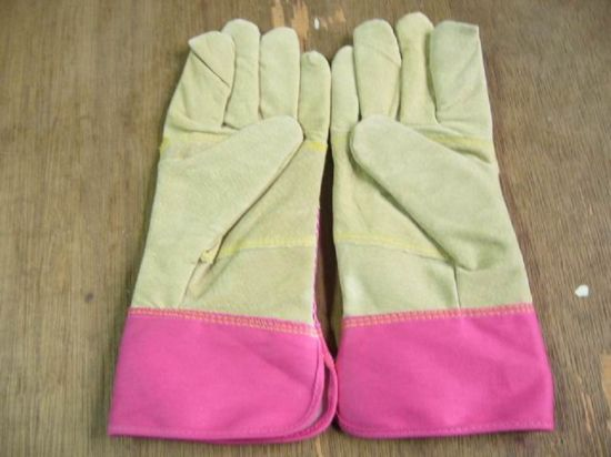 Work Glove-Pig Leather Glove-Industrial Glove-Safety Glove-Protective Glove pictures & photos