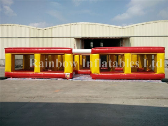 High Quality Inflatable Maze Playground for Adults and Kids pictures & photos