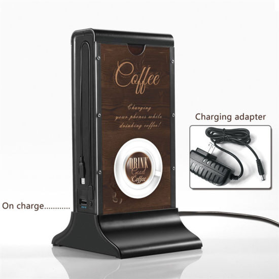 Large Capacity 20800mAh Coffee Shop/Restaurant Advertising Display Power Bank with RoHS pictures & photos