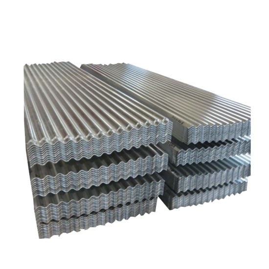 Roof Tile ASTM A792 Hot Dipped Alu-Zinc Coated Galvalume Corrugated Roofing Sheet