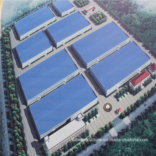 China Heavy Duty Workshop Steel Structure Frame Factory Building