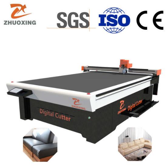 Zhuoxing Direct Manufacturer Zhuoxing Oscillating Knife Cutting Machine Sofa Cutter