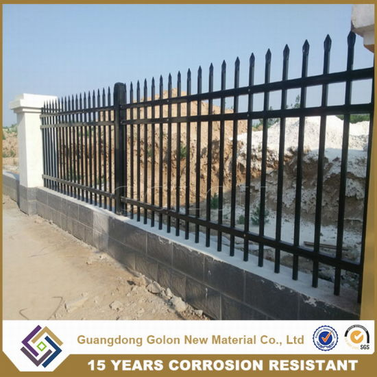 Good Quality Zinc Steel Commercial Fence pictures & photos